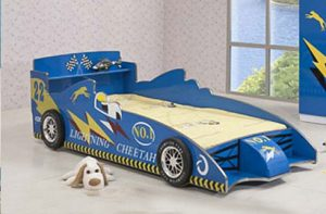 Bộ giường ngủ đơn cho bé trai tạo hình ngộ nghĩnh