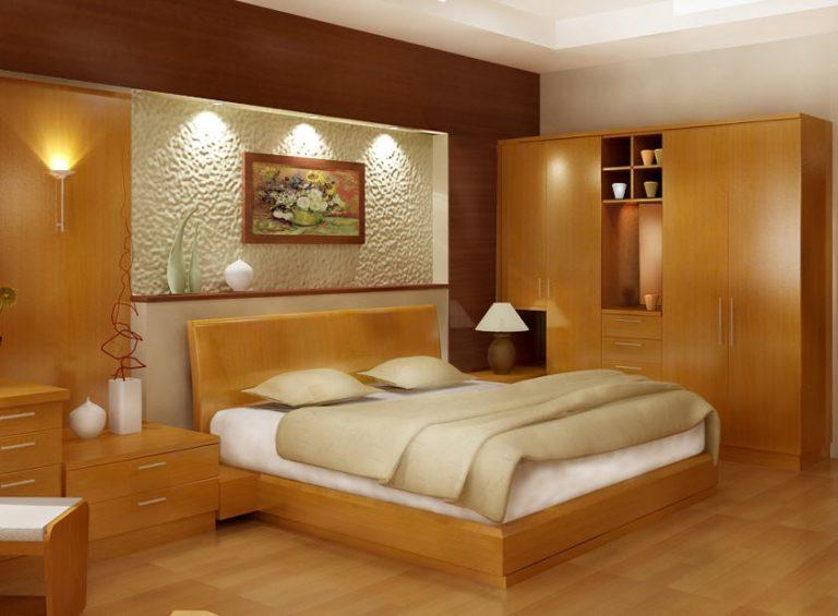 Mẫu 7: giường gỗ đẹp hiện đại