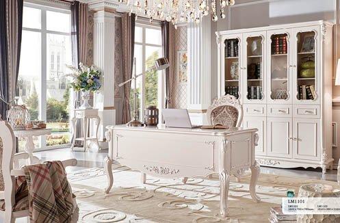 Xác định diện tích căn phòng đặt bàn làm việc tân cổ điển