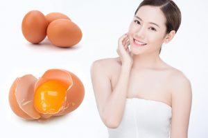Cách làm đẹp da mặt bằng lòng trứng gà