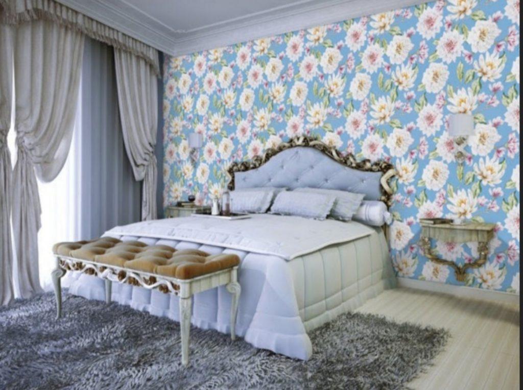 giấy dán tường Hàn Quốc phòng ngủ